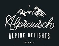 Alprausch Winter 2015/16 Mens Basic T-Shirts