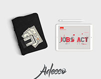 "Adecco Italy ""Jobs Act"" info graphic"