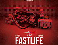 The Fastlife | Mixtape Album CD Cover Template