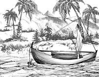 Felluka boat