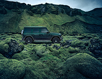 "Mercedes-Benz G-Class ""Green Lava"" Campaign & Brochure"