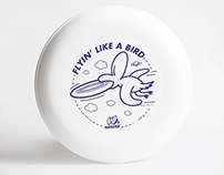WAFLESS — limited edition frisbee