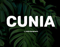Cunia Free Font Typeface