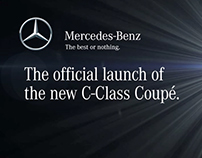 Mercedes Benz C-Coupe Exclusive Preview