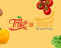Take in Food - Online Food Ordering