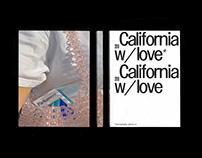 California w/ love
