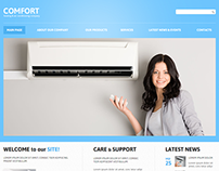 Air Conditioning Joomla Template