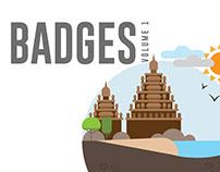 Badges - Volume 1