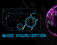 Music Visualizer data visualization