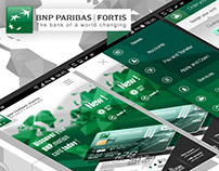 BNP Paribas Fortis / Motion bank card