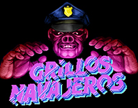 Grillos Navajero animated poster