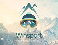 Winter Sport Webpage