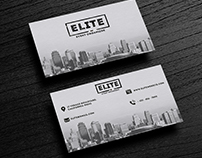 Business Card for Event Organizer