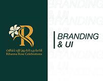 Rihanna Rose Branding & UI