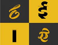 Cross–Script Letters