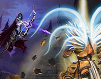 HOTS Contest Entry (Sylvanas VS Tyrael)