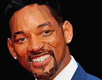 WILL SMITH - LOW POLY