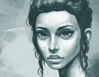 Monotone Portrait