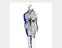 GARETH PUGH // fashion illustration