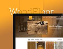 """Web design """"WoodFloor"""""""