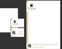 de Perroen - restaurant - website - logo - stationary