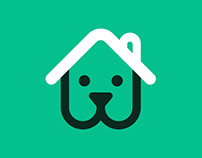 PetStay (pet sitting service) brand site & Logo design