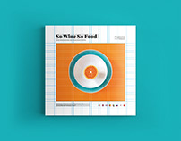 So Wine So Food Magazine - August issue