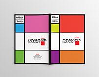 Akbank Sanat Broşür / Brochure