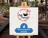 Café&Churrasqueira Painel