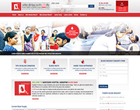 Blood Bank Website
