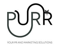 Purr PR - Logo Design