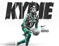Nike Poster (Spoof) | Kyrie Irving #11 | Boston Celtics