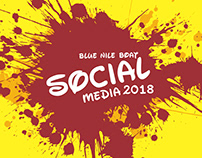 Social Media Blue Nile boat