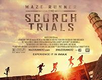 Maze Runner: The Scorch Trials / Fan art poster