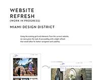 WEBSITE REFRESH Miami Design District