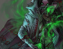 NYCTESSA the Necromancer_ REDDRAWS