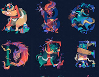 A-Z of Mythical Creatures and Monsters