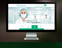 Hospital Website Design Inspiration