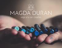 MAGDA DURAN - Naming & Branding, copy tagline.