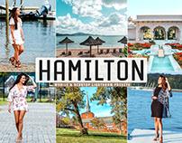 Free Hamilton Mobile & Desktop Lightroom Presets