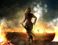 The Fire Warrior (Photo Manipulation)