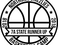 NHS 2018 Basketball Camp Shirt Logo