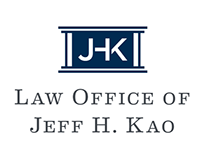 Law Office of Jeff H. Kao : Logo & Stationery