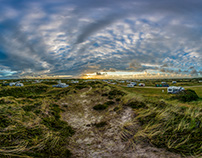 360 degrees from a danish dune