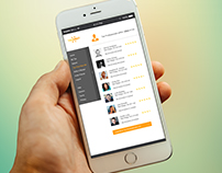 TaxMeet Mobile App Design