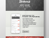 Mohawk Appy Hour Event Poster