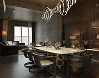 Minotti apartment  - Visualization