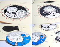 Custom mini magnetic cards