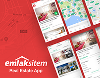 Emlaksitem Real Estate - iOS & Android App