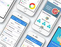 Diabetes Lifestyle App UI/UX Design
